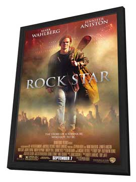 Rock Star - 11 x 17 Movie Poster - Style A - in Deluxe Wood Frame