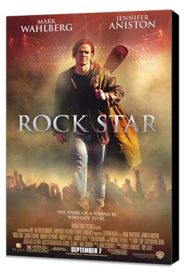 Rock Star - 27 x 40 Movie Poster - Style A - Museum Wrapped Canvas