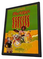 Rockers - 11 x 17 Movie Poster - Style A - in Deluxe Wood Frame