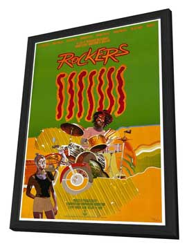 Rockers - 27 x 40 Movie Poster - Style A - in Deluxe Wood Frame