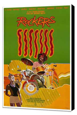Rockers - 27 x 40 Movie Poster - Style A - Museum Wrapped Canvas