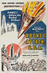 Rocket Attack, U.S.A. - 27 x 40 Movie Poster - Style A