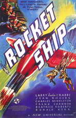Rocketship - 11 x 17 Movie Poster - Style A