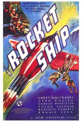 Rocketship - 27 x 40 Movie Poster - Style A
