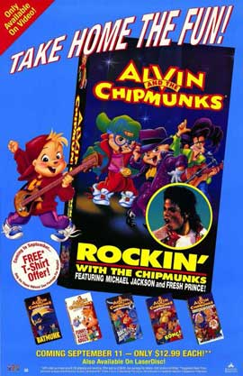 Rockin' With the Chipmunks - 11 x 17 Movie Poster - Style A