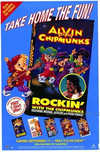 Rockin' With the Chipmunks - 27 x 40 Movie Poster - Style A