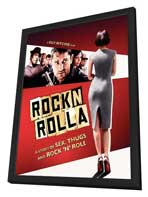 Rocknrolla - 11 x 17 Movie Poster - Style B - in Deluxe Wood Frame