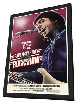 Rockshow - 27 x 40 Movie Poster - Style A - in Deluxe Wood Frame