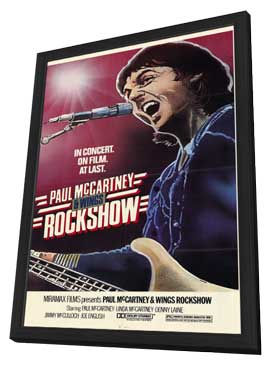 Rockshow - 11 x 17 Movie Poster - Style A - in Deluxe Wood Frame