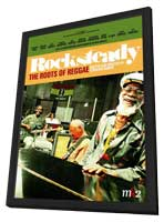 Rocksteady: The Roots of Reggae - 11 x 17 Movie Poster - French Style A - in Deluxe Wood Frame