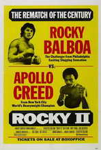 Rocky 2 - 27 x 40 Movie Poster - Style E