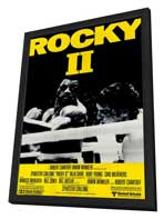 Rocky 2 - 11 x 17 Movie Poster - Style B - in Deluxe Wood Frame
