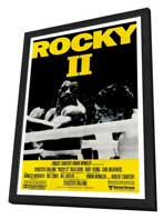 Rocky 2 - 27 x 40 Movie Poster - Style D - in Deluxe Wood Frame