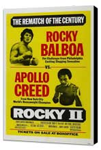 Rocky 2 - 11 x 17 Movie Poster - Style A - Museum Wrapped Canvas