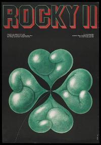 Rocky 2 - 11 x 17 Movie Poster - Polish Style A