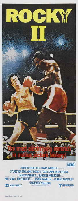 Rocky 2 - 14 x 36 Movie Poster - Insert Style A