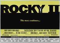 Rocky 2 - 11 x 17 Movie Poster - Style F
