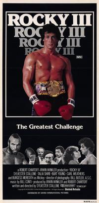 Rocky 3 - 11 x 17 Movie Poster - Australian Style A