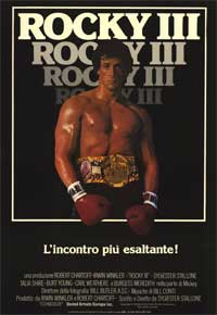 Rocky 3 - 11 x 17 Movie Poster - Italian Style A