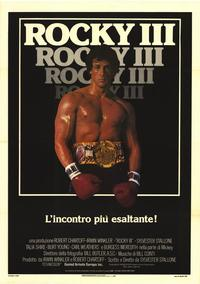 Rocky 3 - 27 x 40 Movie Poster - Italian Style A