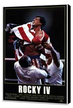 Rocky 4 - 27 x 40 Movie Poster - Style A - Museum Wrapped Canvas