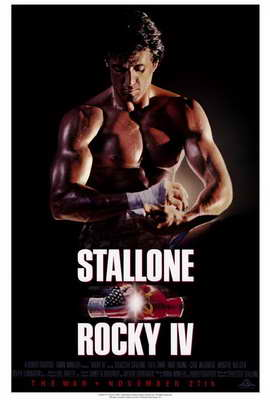 Rocky 4 - 27 x 40 Movie Poster - Style B