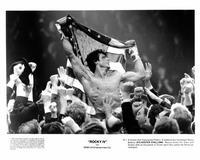 Rocky 4 - 8 x 10 B&W Photo #1