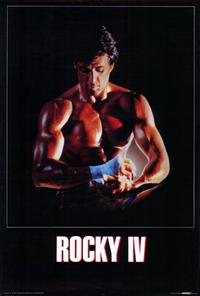 Rocky 4 - 27 x 40 Movie Poster - German Style A