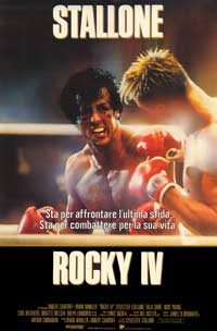Rocky 4 - 27 x 40 Movie Poster - Spanish Style A