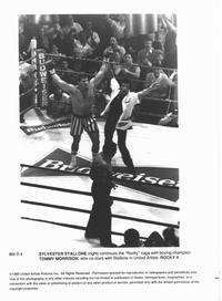 Rocky 5 - 8 x 10 B&W Photo #1