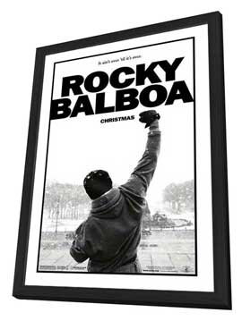 Rocky Balboa - 27 x 40 Movie Poster - Style A - in Deluxe Wood Frame