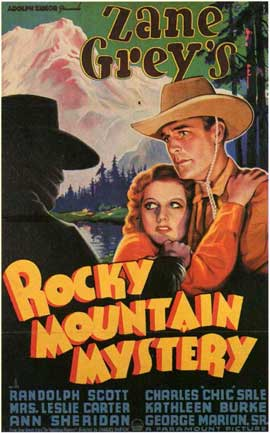 Rocky Mountain Mystery - 11 x 17 Movie Poster - Style A