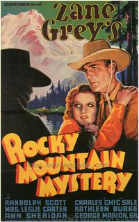 Rocky Mountain Mystery - 43 x 62 Movie Poster - Bus Shelter Style A