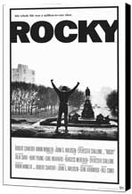 Rocky - 11 x 17 Movie Poster - Style A - Museum Wrapped Canvas