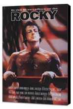 Rocky - 27 x 40 Movie Poster - Style D - Museum Wrapped Canvas