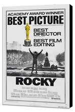 Rocky - 27 x 40 Movie Poster - Style K - Museum Wrapped Canvas