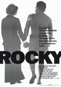 Rocky - 11 x 17 Movie Poster - German Style A