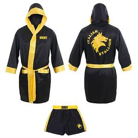 Rocky - Italian Stallion Satin Robe and Shorts Set
