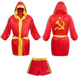 Rocky - Ivan Drago Satin Robe and Shorts Set