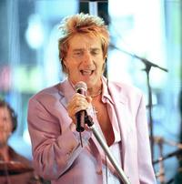 Rod Stewart & Faces & Keith Richards - 8 x 10 Color Photo #1