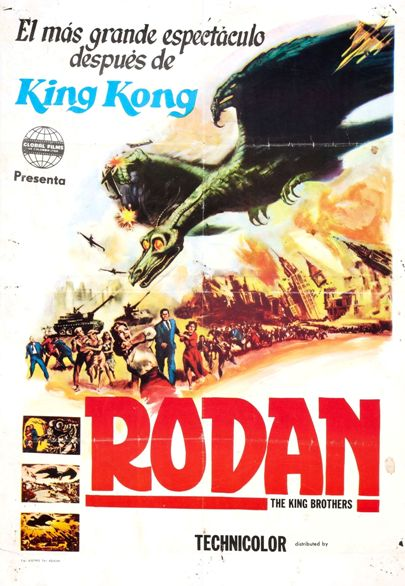 Rodan - 11 x 17 Poster - Foreign - Style A