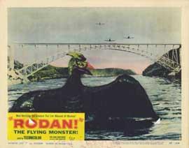 Rodan - 11 x 14 Movie Poster - Style B
