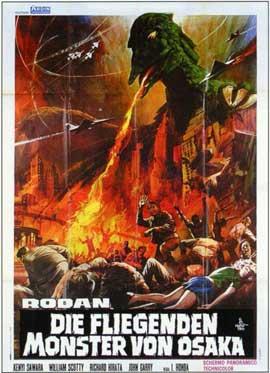 Rodan - 11 x 17 Movie Poster - Italian Style A