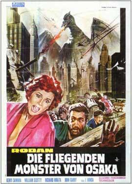 Rodan - 11 x 17 Movie Poster - Italian Style B