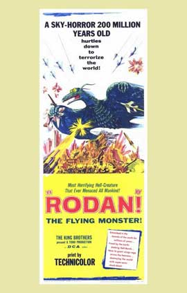 Rodan - 11 x 17 Movie Poster - Style B