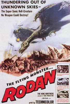 Rodan - 27 x 40 Movie Poster - Style A