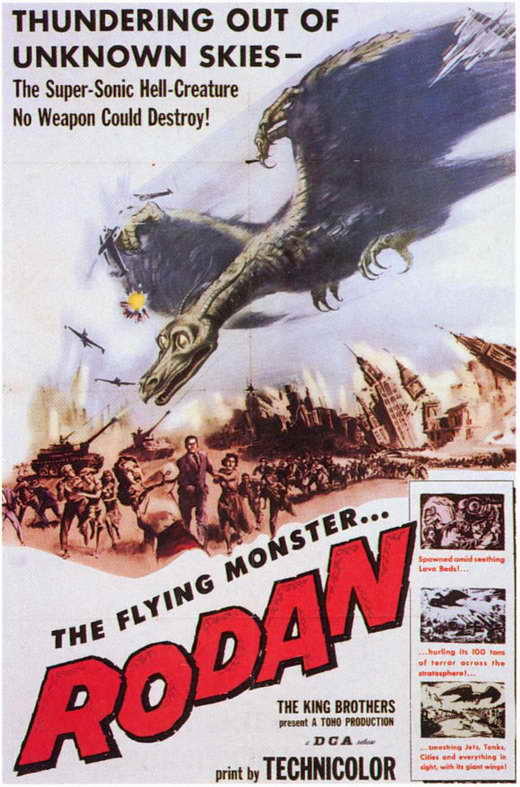 Rodan Movie Posters From Movie Poster Shop