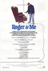 Roger & Me - 43 x 62 Movie Poster - Bus Shelter Style A