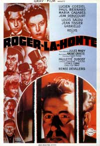 Roger la Honte - 11 x 17 Movie Poster - French Style A