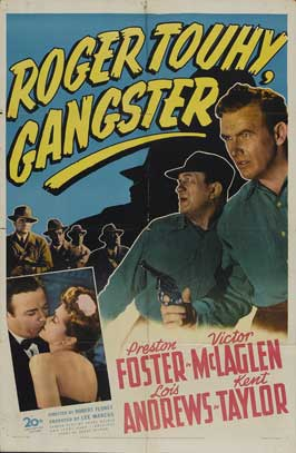 Roger Touhy, Gangster - 27 x 40 Movie Poster - Style A